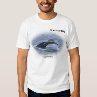 Monterey Bay Humpback Whale Tail T-Shirt