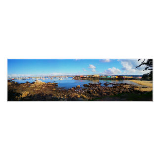 Monterey Bay Pano Poster