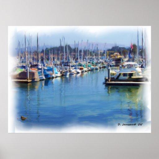 Monterey Bay Print