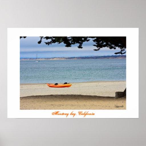 Monterey bay poster