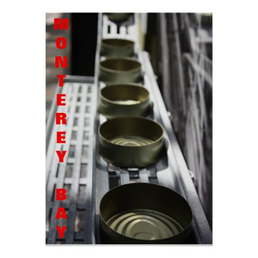 Monterey Bay Sardine Factory Poster