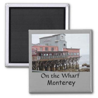 Monterey, Ca 2 Inch Square Magnet