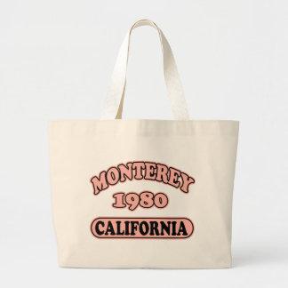 Monterey, Ca -- Camiseta Bolsa Tela Grande
