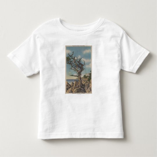Monterey, CA - Old Witch Tree on 17 Mile Toddler T-shirt