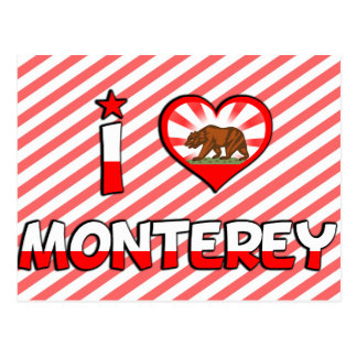 Monterey CA Post Cards