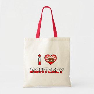 Monterey, CA Tote Bag