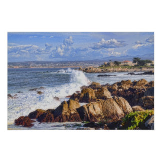 Monterey California By the Sea Poster