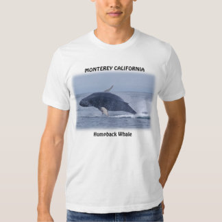 Monterey California Humpback Whale T-Shirt