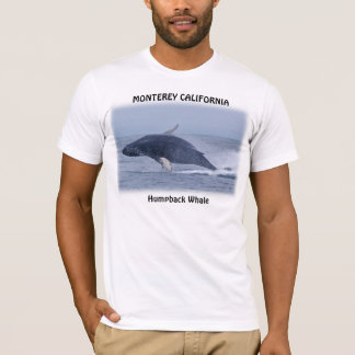 Monterey California Humpback Whale T-Shirt