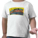 Monterey, California - Large Letter Scenes Shirts