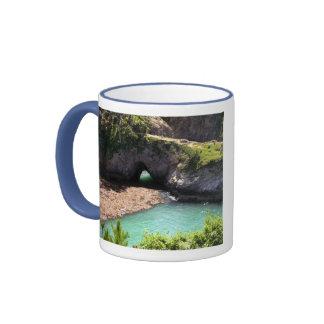 Monterey, California Ringer Coffee Mug