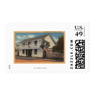 Monterey, California View of Old Whaling Station Postage Stamp