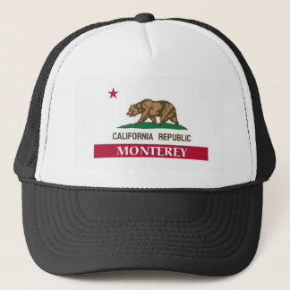 Monterey City california Trucker Hat