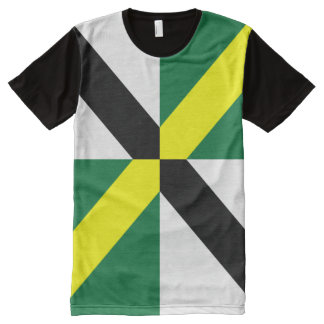 Monterey Claifornia  flag Shirt All-Over Print T-shirt