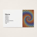 Monterey Fractal Art Business Card