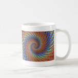Monterey Fractal Art Coffee Mug