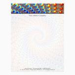 Monterey Fractal Art Letterhead