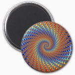 Monterey Fractal Art Magnet