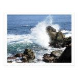 monterey, coast, coastline, beach, waves, rocks,