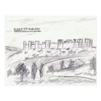 Monteriggioni Postcard