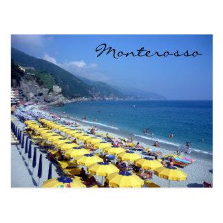 monterosso beach post cards