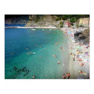 monterosso blue waters postcards