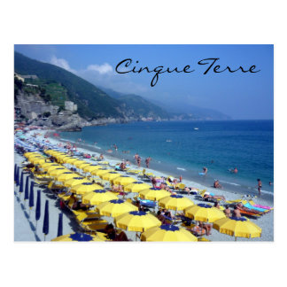 monterosso postcards