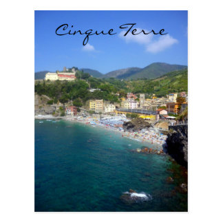 monterosso waters postcards