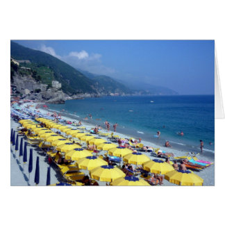 monterosso yellow greeting cards