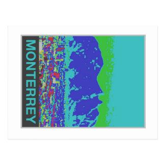 Monterrey, MX,Travel Poster Postcard-Vintage Style