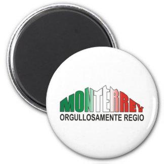 MONTERREY ORGULLOAMENTE REGIO 2 INCH ROUND MAGNET