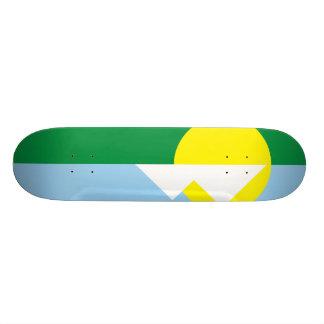 Montes Claros Minas Gerais, Brazil Skateboard Deck