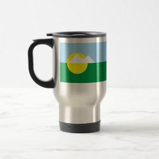 Montesclaros Minasgerais bandera del Brasil, el Br Taza De Viaje De Acero Inoxidable