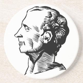Montesquieu Drink Coaster