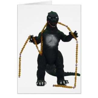 Montessaurus & Hundred Chain Note Card