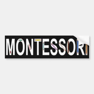 Montessori Bead Stair Bumper Sticker