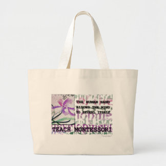 Montessori Iris Large Tote Bag
