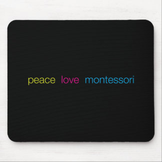 Montessori Mousepad