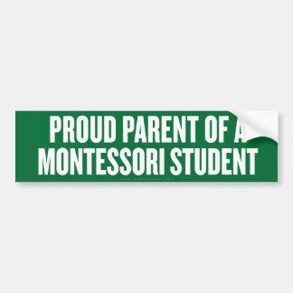 Montessori Parent Bumper Sticker Car Bumper Sticker