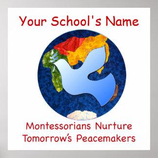 Montessorians de encargo consolida la impresión de posters
