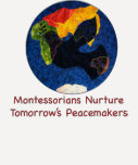 Montessorians Nurture Peace Quarter Sleeve T-Shirt