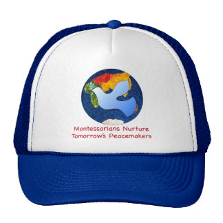 Montessorians Nuture Tomorrow's Peacemakers Trucker Hat