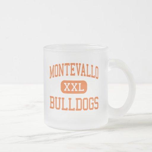 Montevallo - Bulldogs - High - Montevallo Alabama 10 Oz Frosted Glass Coffee Mug