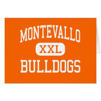 Montevallo - Bulldogs - High - Montevallo Alabama Greeting Card