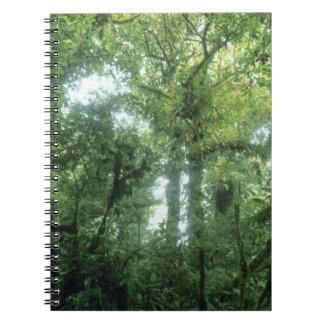 Monteverde Cloud Forest, Costa Rica. Notebook