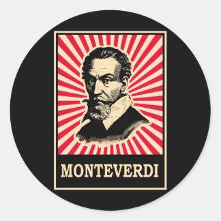 Monteverdi Classic Round Sticker
