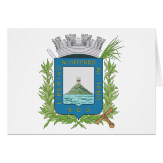 Montevideo Coat of Arms Card