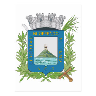 Montevideo Coat of Arms Postcard