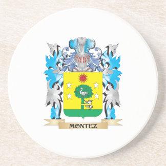 Montez Coat of Arms - Family Crest Drink Coaster
