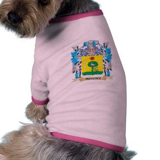 Montez Coat of Arms - Family Crest Dog Shirt